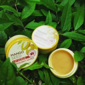 TẨY DA CHẾT MÔI MANGO SEED BUTTER LIP SCRUB THE FACE SHOP