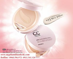 CC CREAM THE FACE SHOP AQUA AURA COLOR CONTROL
