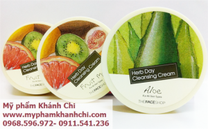 KEM TẨY TRANG HERB DAY 365 CLEANSING CREAM THEFACESHOP