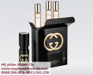 NƯỚC HOA GUCCI NỮ GUCCI GUILTY PURSE SPRAY 4X15ML