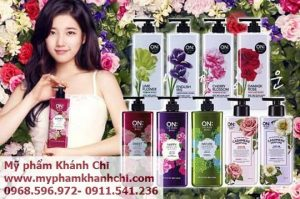 DƯỠNG THỂ ON THE BODY CASHMERE PERFUME 400ML