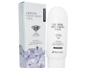 DƯỠNG THỂ CRYSTAL WHITE MILKY PACK-3W CLINIC