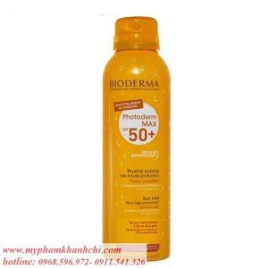 Xịt chống nắng Biodem- Mỹ  150ml