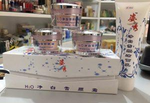 Bộ  ngăn ngừa nám , dưỡng trắng da H20 4 in 1 Nhật Bản