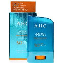 Kem chống nắng thỏi AHC natural – 14g – Hàn Quốc