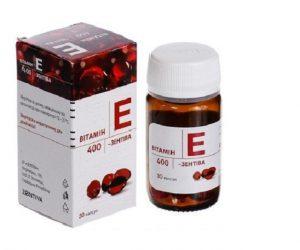 Viên uống Vitamin E Zentiva đẹp da chống lão hóa- 30 viên – Nga